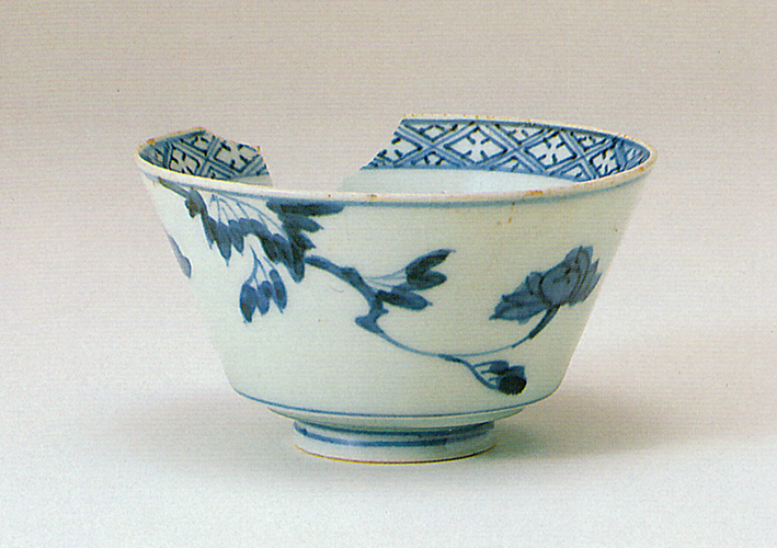 Fig. 15 - Hizen glazed bowl from Naito-cho