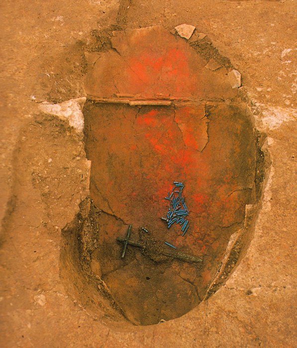 Fig. 08 - Jar burial No.1002 at Yoshinogari, Saga prefecture