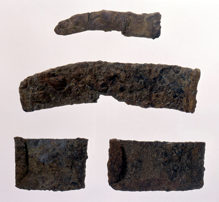 Fig. 09 - Iron-edged farming tools