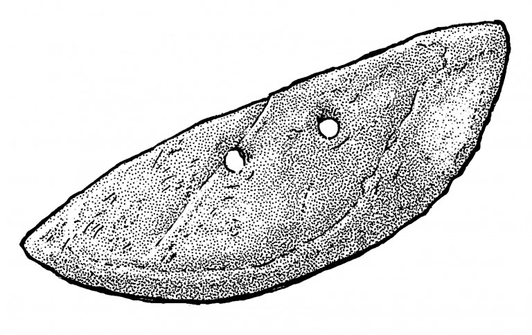 Fig. 04 - Reaping knife from Itazuke