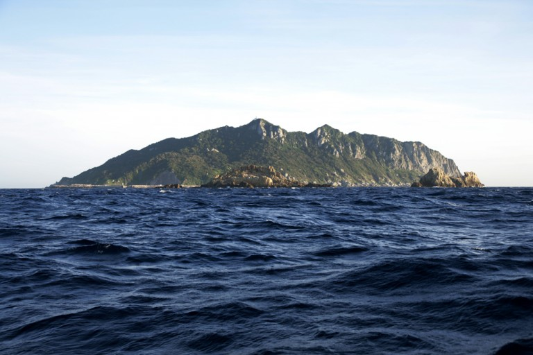 Fig. 16 - The sacred island of Okinoshima